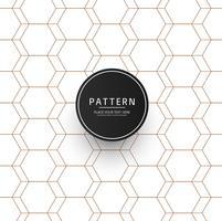 Vecteur de conception motif rayures géométriques abstraites