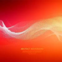 Abstrait de la vague de demi-teinte coloré brillant