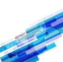 Arrière-plan de la ligne bleue abstraite