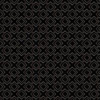 motif abstrait de lignes géométriques or sur luxe fond noir. vecteur