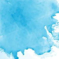 Fond aquarelle bleu moderne vecteur