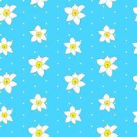 résumé, printemps, fleur, seamless, modèle, fond vecteur