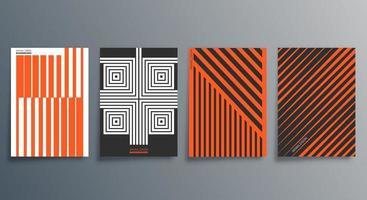 conception minimale géométrique pour flyer affiche brochure couverture arrière-plan papier peint typographie ou autres produits d'impression illustration vectorielle vecteur
