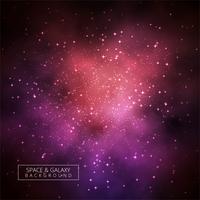 Univers abstrait brillant fond de galaxie vecteur