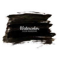fond aquarelle noir moderne vecteur