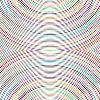 Illustration de fond de belles lignes colorées