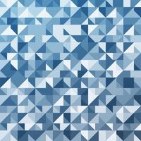 Vecteur de fond de polygone bleu