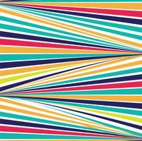 Impression de fond des lignes colorées abstraites