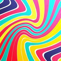 Illustration vectorielle de lignes colorées modernes backgroind