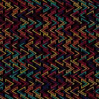 Illustration de fond motif géométrique colroful