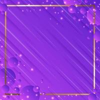 couleur lavande abstraite avec cadre vecteur