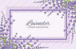 fond de lavande violet vecteur
