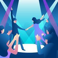Partie Dance Illustration Vector