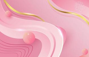 fond rose abstrait vecteur