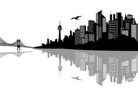 Vecteurs de paysage de la ville vecteur