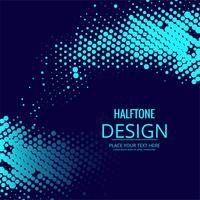 Design coloré abstrait demi-teintes vecteur