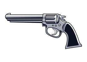 pistolet à tambour dessiné vecteur