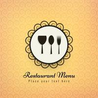 Illustration vectorielle de restaurant icônes fond coloré vecteur