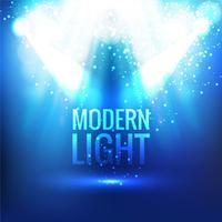 Abstrait lumière moderne vecteur