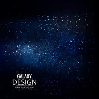 Space Galaxy Background avec nébuleuse, poussière d'étoile et éclat brillant vecteur