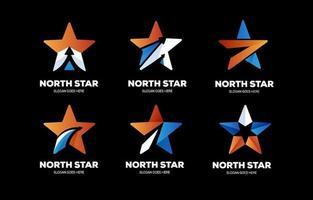 pack de collection de logo étoile vecteur