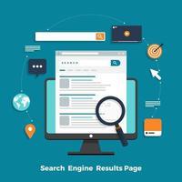 concept de moteur de recherche vecteur