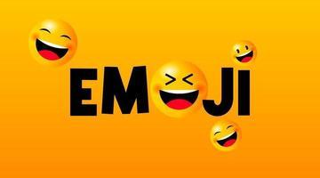 vecteur d'illustration mignon jour emoji