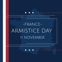 Jour de l'armistice français vecteur
