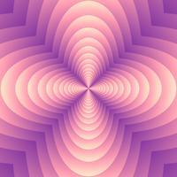 Fond de forme de trèfle mélange géométrique abstrait vecteur