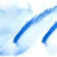 Abstrait aquarelle bleue vecteur