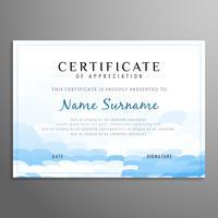 Certificat abstrait