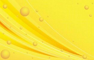 fond jaune abstrait vecteur