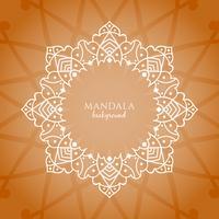 Fond abstrait mandala de luxe magnifique