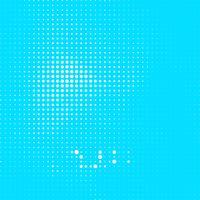 Abstrait bleu demi-teinte