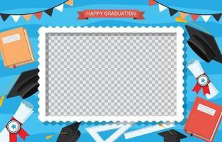 cadre photobooth gradustion vecteur