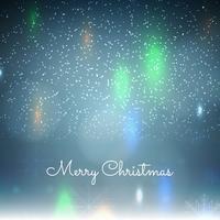 Abstrait fond coloré de joyeux Noël vecteur