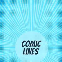 Design de fond abstrait bande dessinée vecteur