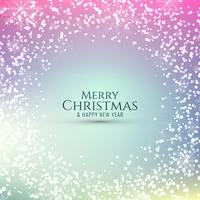 Abstrait rougeoyant joyeux Noël vecteur