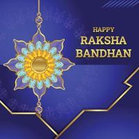 concept de raksha bandhan vecteur