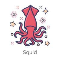 conception de homard vecteur