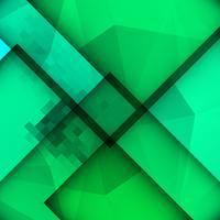Abstrait coloré moderne polygonale