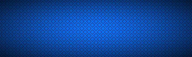 bannière abstraite bleue avec contour d'en-tête de vecteur simple carrés