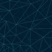 Arrière-plan de lignes de polygone abstraite vecteur