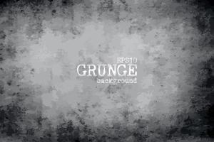 Grunge vignette vieux fond de papier sale et vecteur de texture