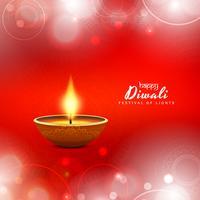 Design de fond abstrait joyeux Diwali