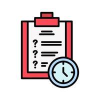 date limite du projet iocn vecteur