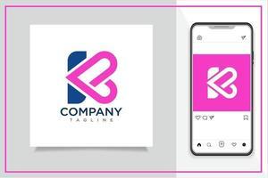 logo lettre k vecteur