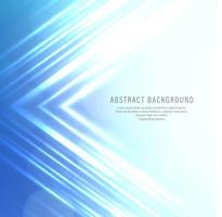 Abstrait lignes bleu brillant vecteur