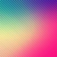Abstrait de lignes lumineuses colorées vecteur