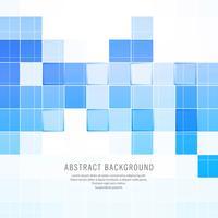 Carrés bleus abstraites vector background